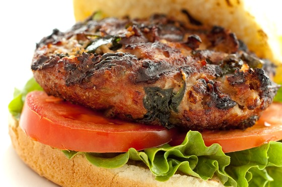 spinach-and-feta-turkey-burgers