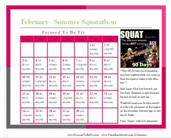 february squatathon