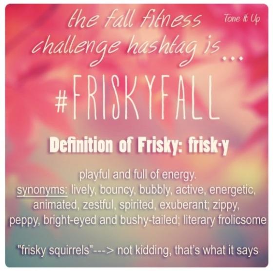 frisky fall