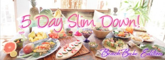 5 day slim down